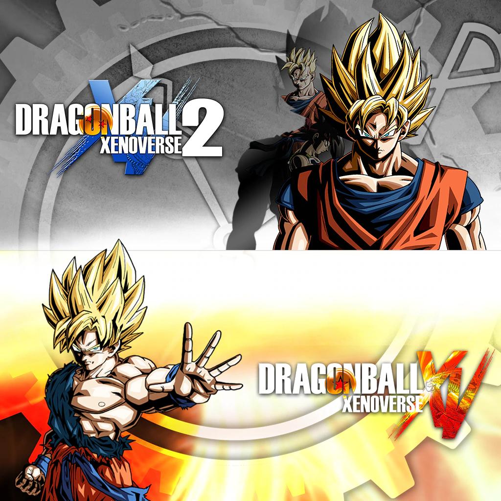 Bundle Dragon Ball Xenoverse 1 & 2 sur PS4 (dématérialisé)