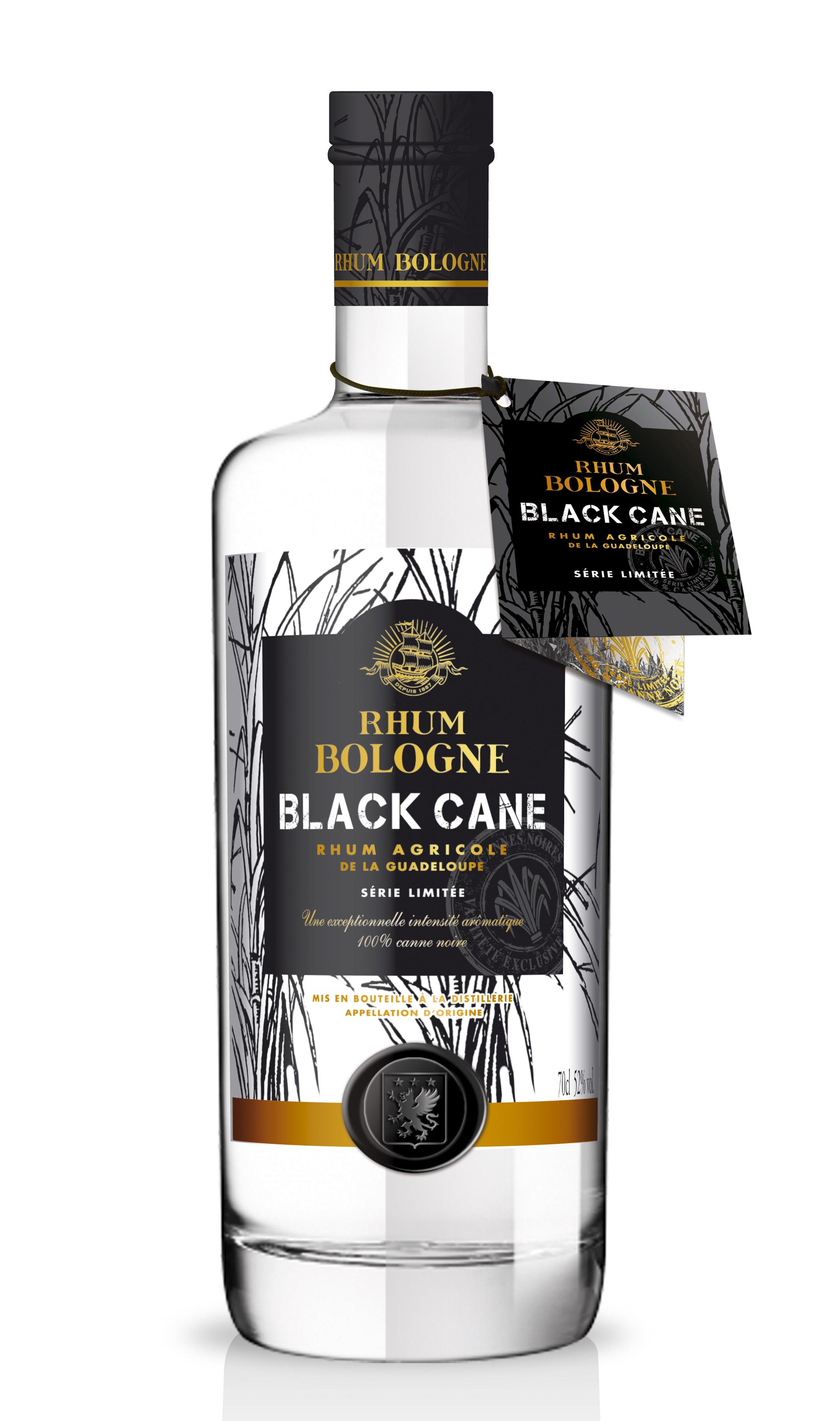 Bouteille de Rhum Blanc Bologne Black Cane (0.7L)