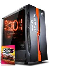 PC gaming Agando Fuego 5867rx - Ryzen 7 5800X, RX 6700 XT, 16 Go RAM 3600MHz, 1 To SSD NVMe + 1 To SSD, Windows 10