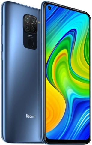 """Smartphone 6.53"""" Xiaomi Redmi Note 9 (Version globale) - Full HD+, Helio G85, 4 Go RAM, 128 Go ROM, NFC, 48MP, 5020mAh, Gris ou Vert"""
