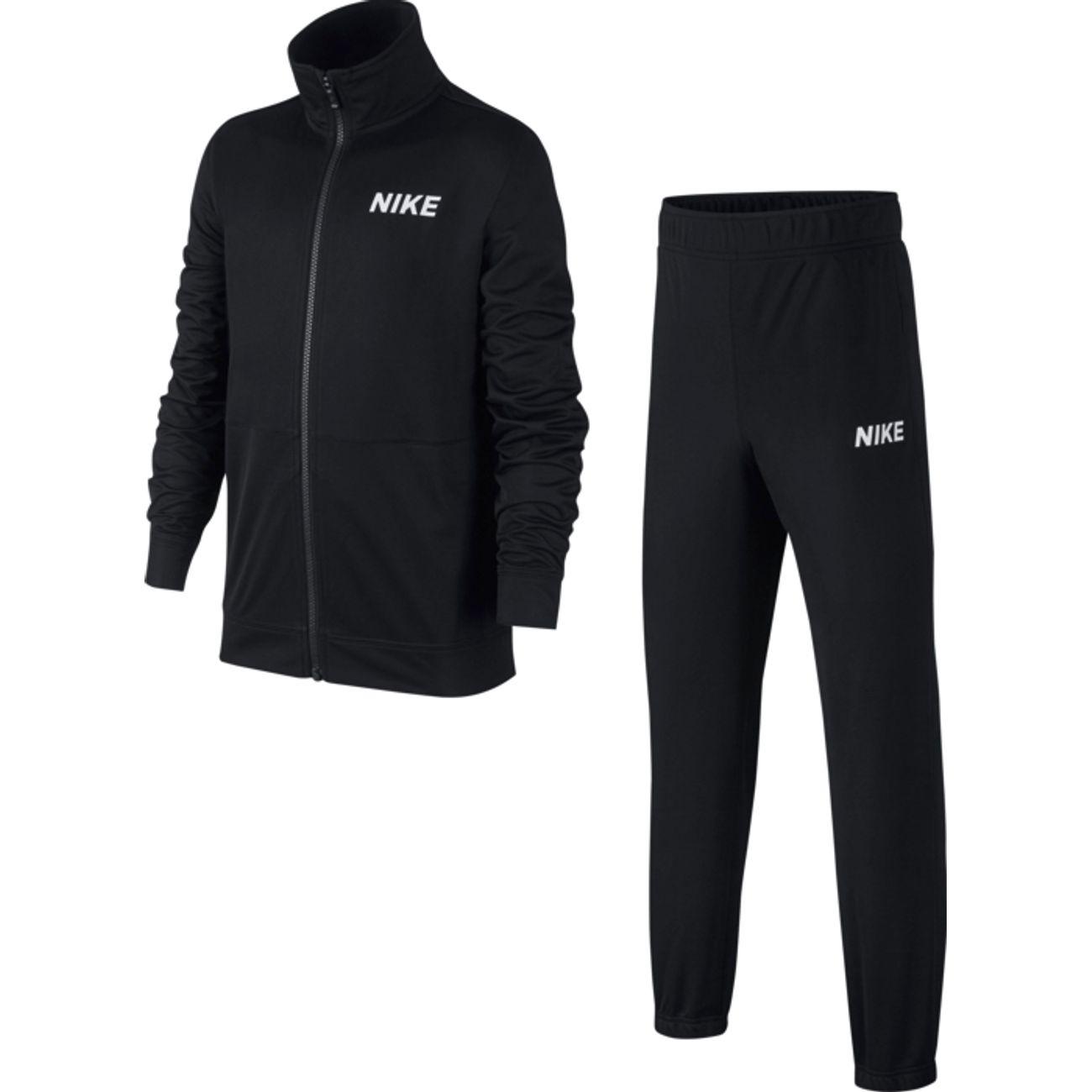 survêtement pour enfant Nike B NSW TRK Suit Poly - noir (plusieurs tailles)