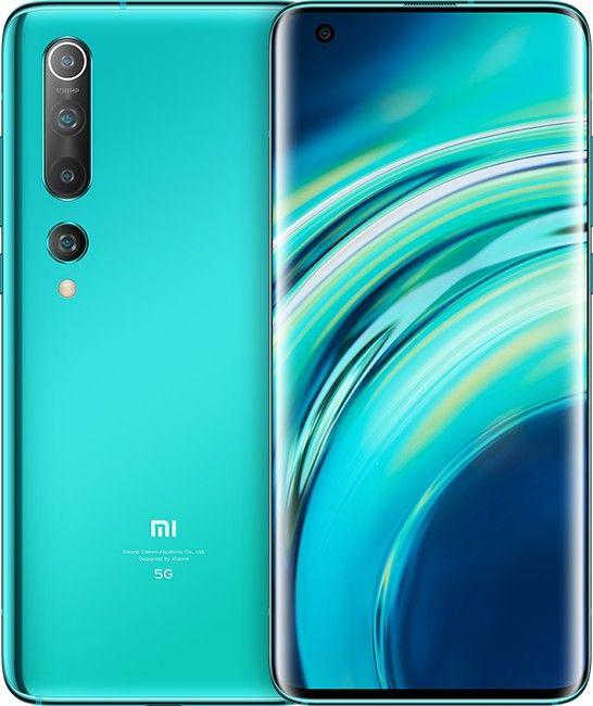 """Smartphone 6.67"""" Xiaomi Mi 10 5G - 8 Go RAM, 128 Go, Vert (+13,89€ en RP)"""