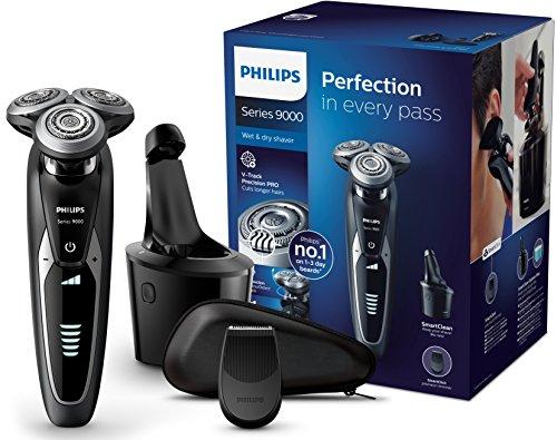 Sélection de rasoirs électriques Philips en promotion - Ex : Series S9531/26 avec système SmartClean Plus & tondeuse de précision clipsable