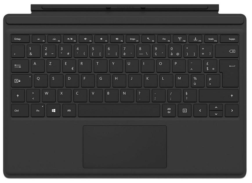 [MAJ] Clavier Microsoft Surface pro 3 & 4 - Type Cover 4 Noir