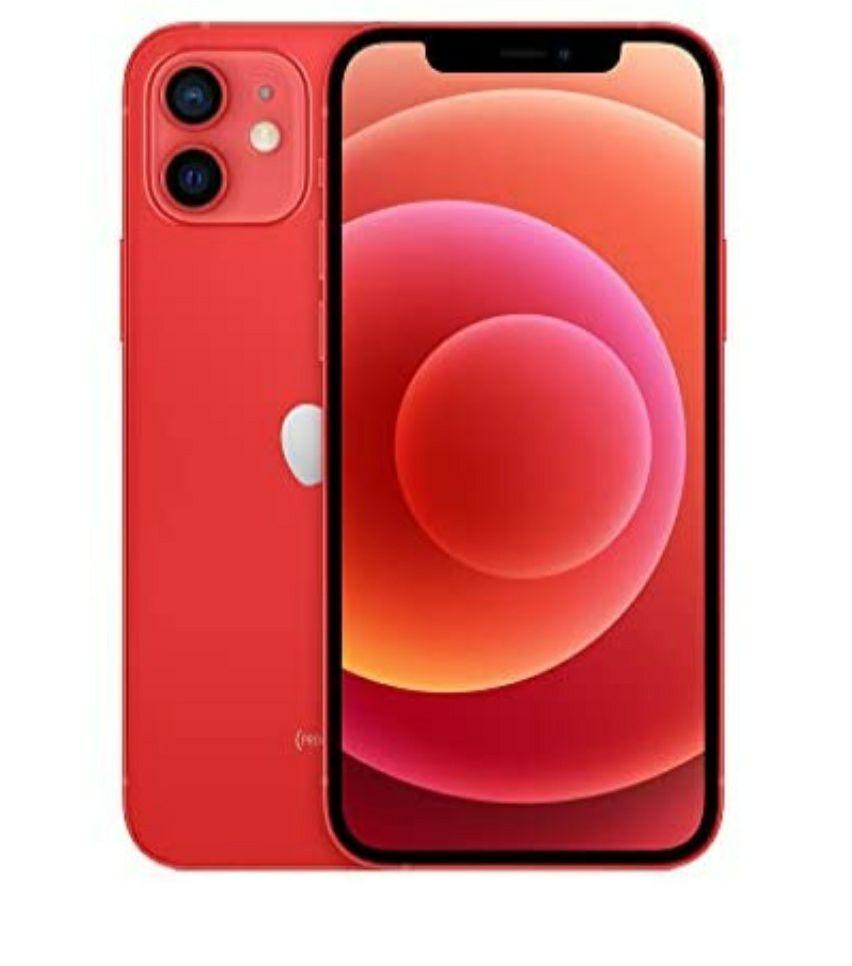 "Smartphone 6.1"" Apple iPhone 12 - 256 Go, Rouge"