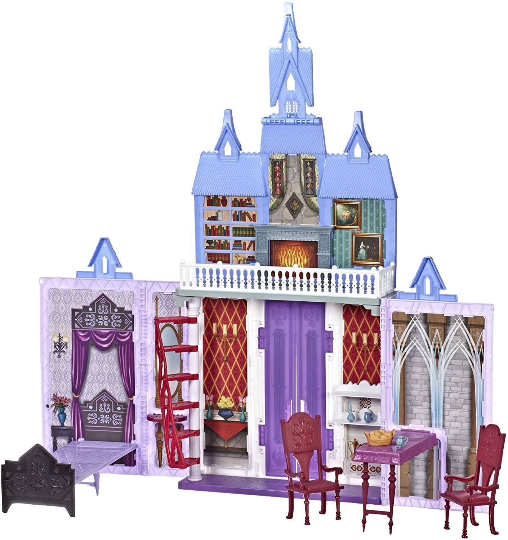 Jouet Disney La Reine des Neiges 2 - Château d'Arendelle d'Elsa et Anna