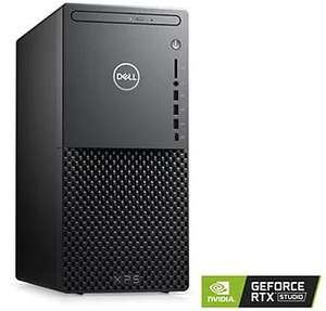 PC Dell XPS Tour - i7-11700, RTX 3070 (8 Go), 32 Go de RAM, SSD 1 To + HDD 1 To, Windows 10