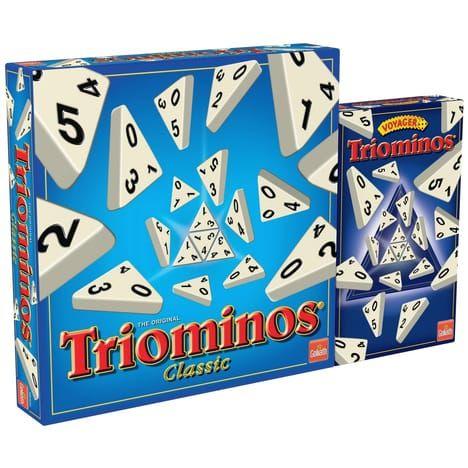 Pack Goliath Triominos Classic + Triominos Voyageur