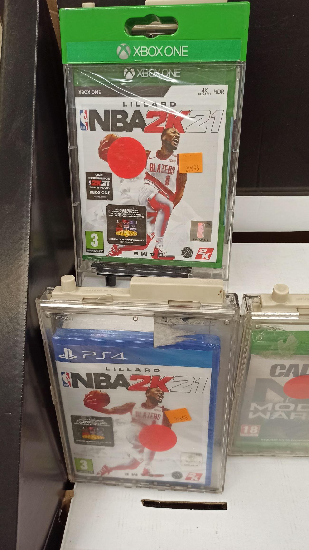 Jeu NBA 2K21 sur PS4 et Xbox One - Euralille (59)