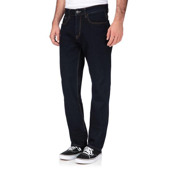 Sélection de jeans Lee Cooper en promotion - Ex : jean noir Regular