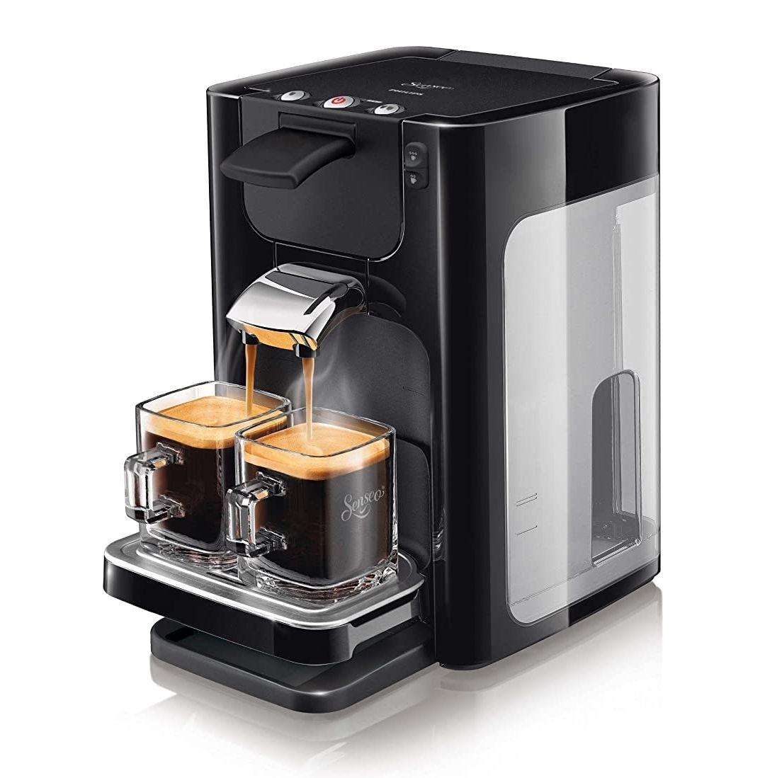 Machine café à dosette Philips Senseo Quadrante HD7866/61 - Noir