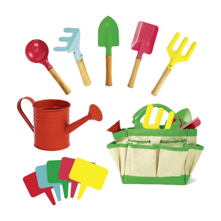 Jouets outils de jardinage en métal pour enfant