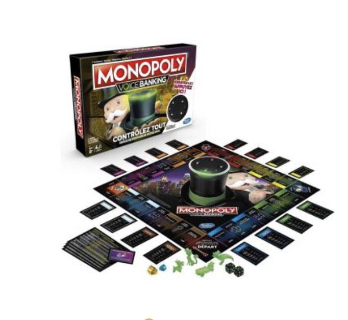 Jeu de société Monopoly Voice Banking