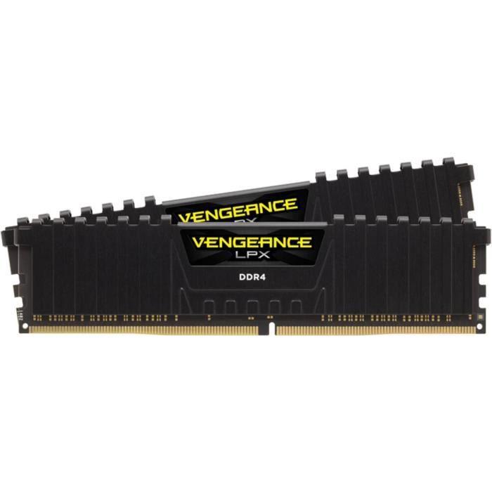 Kit mémoire RAM Corsair Vengeance LPX - 16 Go (2 x 8 Go), DDR4, 3200 MHz, CL16 (CMK16GX4M2B3200C16)
