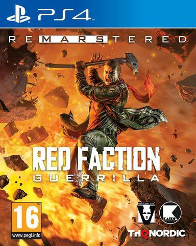 Red Faction Guerilla Remarstered sur PS4 (Via l'application - uniquement en magasin)