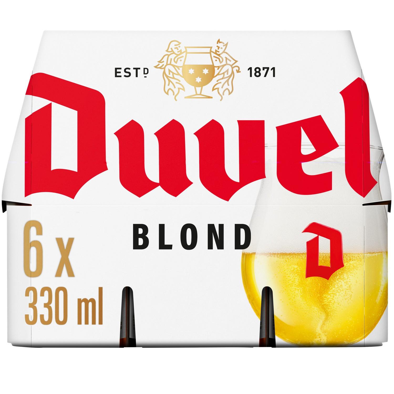Pack de Bières spécialité belge Duvel - 6 x 33 cl