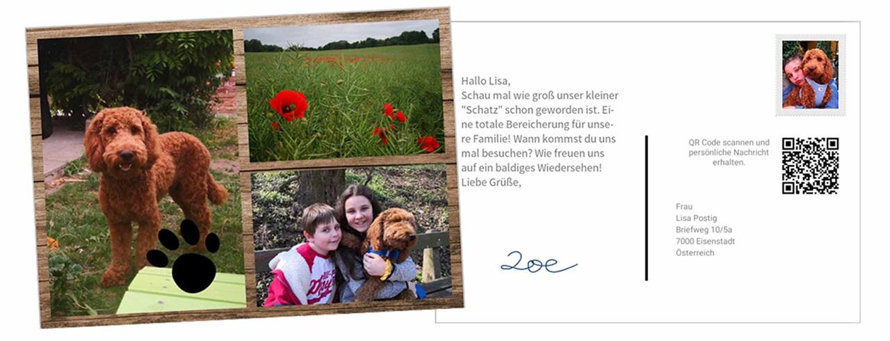Cartes postales gratuites à envoyer dans le Monde entier (unsere.post.at)