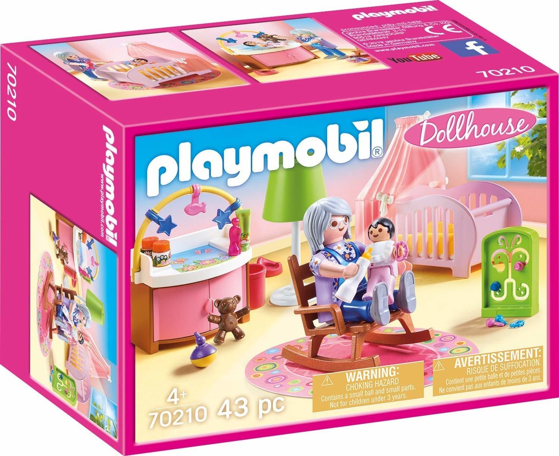 25% de réduction sur une sélection de jouets Playmobil - Ex : Chambre de bébé (70210)