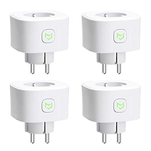 Lot de 4 prises connectées Wi-Fi Meross - Compatible avec Alexa, Google Home, Nest Hub et SmartThings (Vendeur tiers)