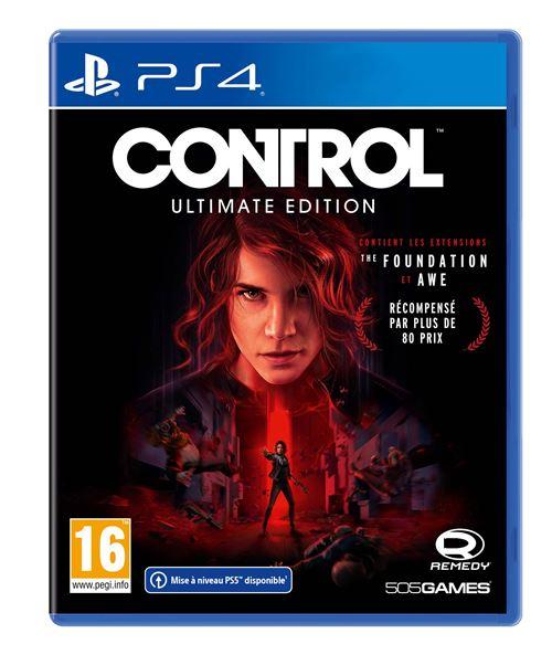Control Ultimate Edition sur PS4