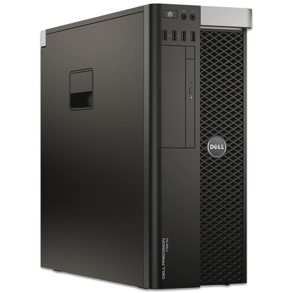 PC Dell Precision T3610 Xeon E5-1650 v2 - 3,5 GHz, 16Go RAM, SSD 250Go, Nvidia Quadro K600 (Reconditionné)