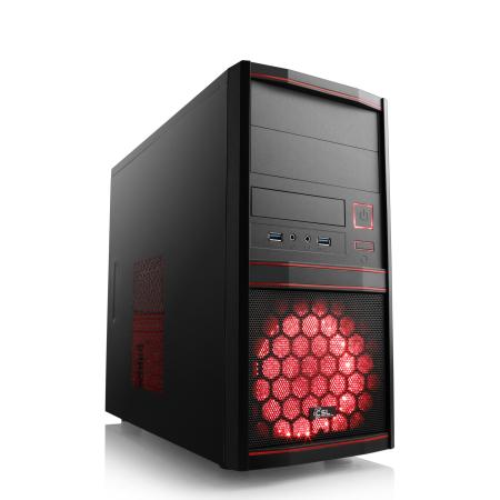 PC Gaming CSL Sprint 5824 - AMD Ryzen 5 3600, RTX 3060, 16 Go de RAM DDR4 (2x8 Go Hyper X), 240 Go M.2 SATA SSD Kingston A400, 500W
