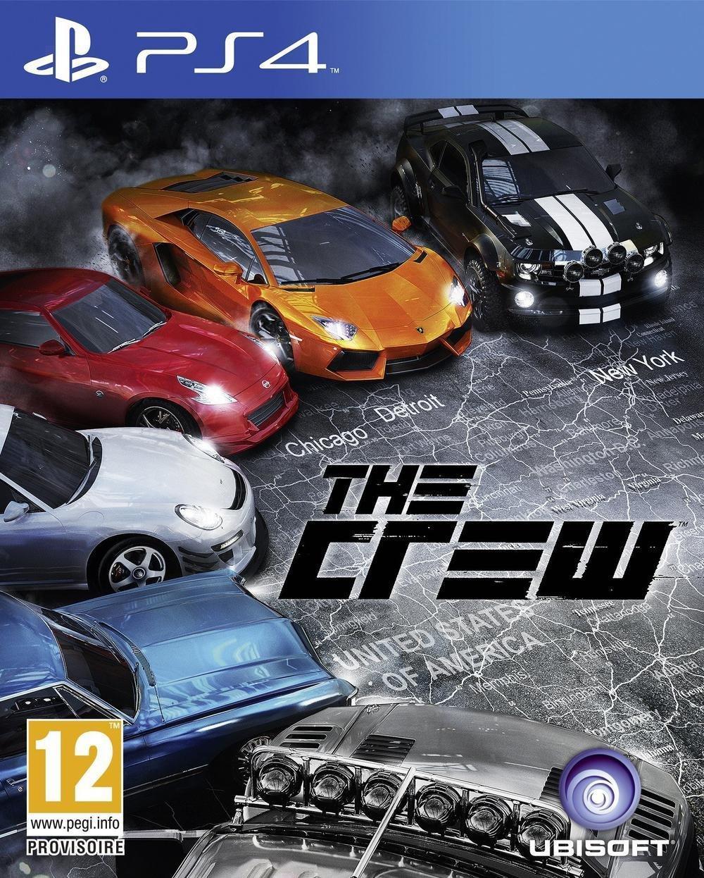 The Crew sur Xbox One à 16.99€ (vendeur tiers) et sur PS4