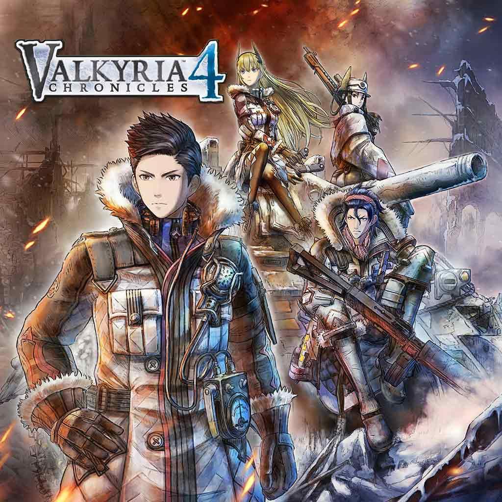 Valkyria Chronicles 4 sur Switch (dématérialisé)