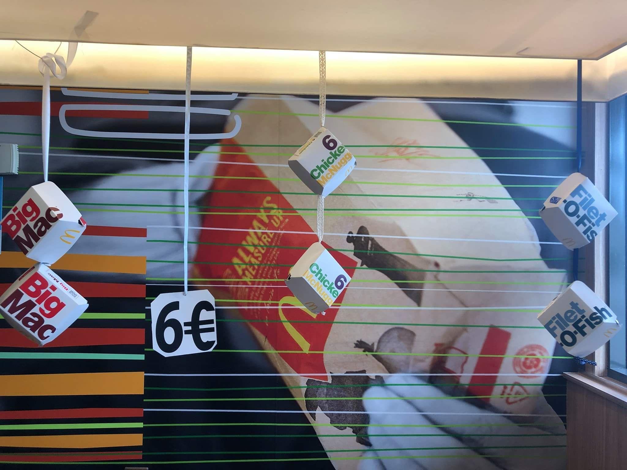 2 Burgers/Boites de Chicken McNuggets à 6€ (Audincourt 25)