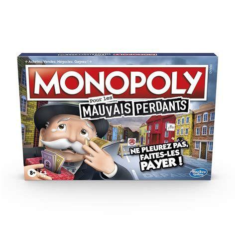 Jeu de société Monopoly Mauvais Perdants