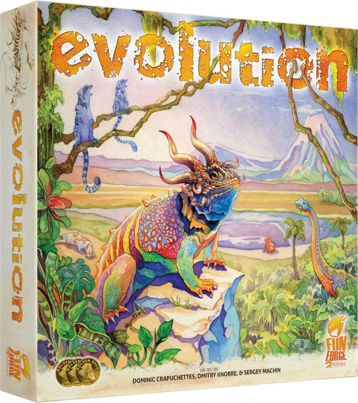 Jeu de société Asmodée Evolution
