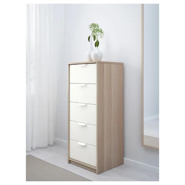 Commode 5 tiroirs Askvoll