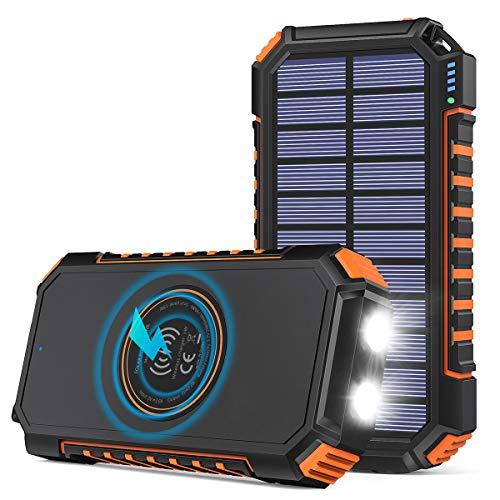 Batterie Externe Solaire Hiluckey - 26800mAh (Vendeur tiers)