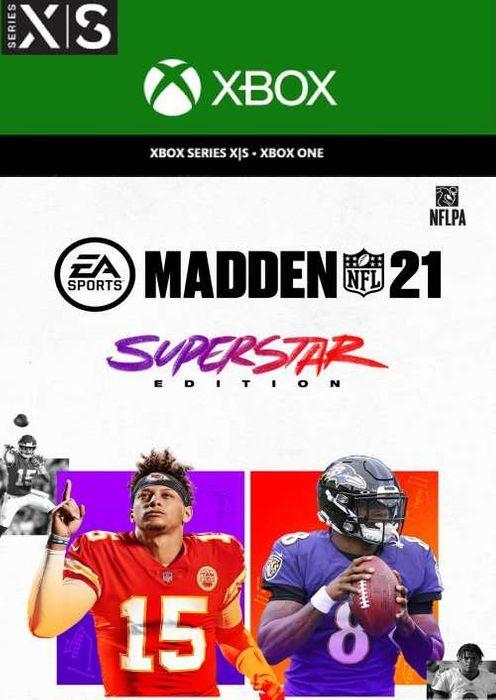 Madden NFL 21 Édition Superstar Xbox One & Xbox Series X|S (dématérialisé)