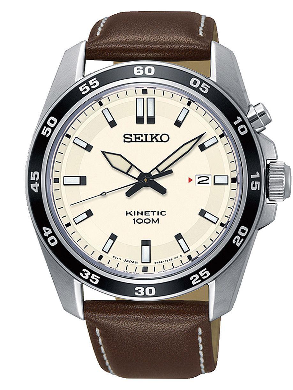Montre Kinetic Seiko SKA787P1 pour Homme - 42mm