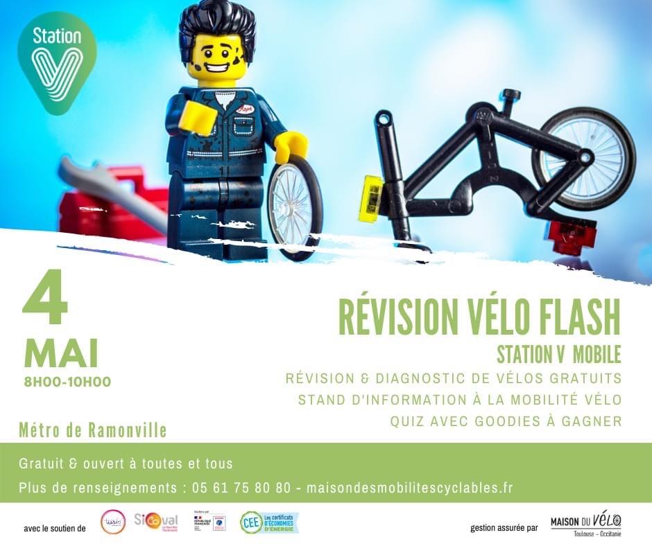 Révision & diagnostic vélo gratuit - Toulouse (31)