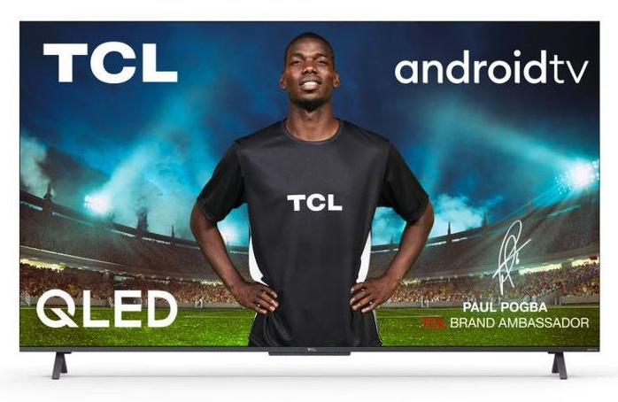 """TV 55"""" TCL 55C725 2021- Android TV 4K QLed (Via ODR 200€)"""
