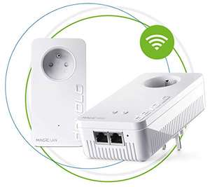 2 boitiers CPL Devolo Magic 2 WiFi