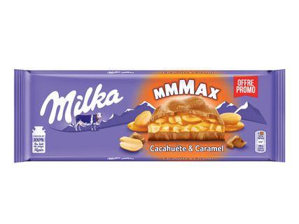 Tablette de Chocolat Milka Mmmax (Variétés au choix) - 300g