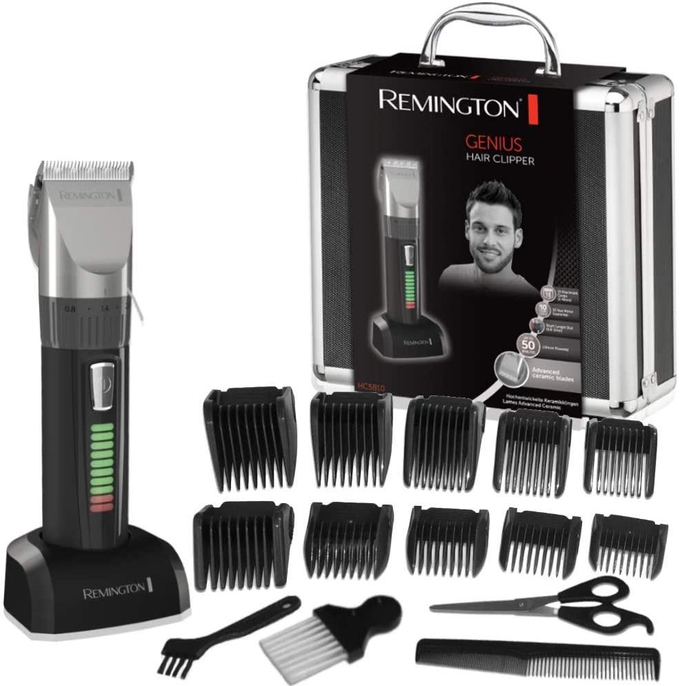 Coffret tondeuse cheveux Remington HC5810 + accessoires