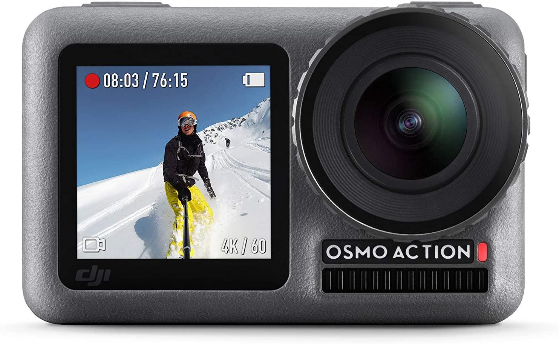 Caméra d'action DJI Osmo Action (+ 30€ en carte cadeau Darty)