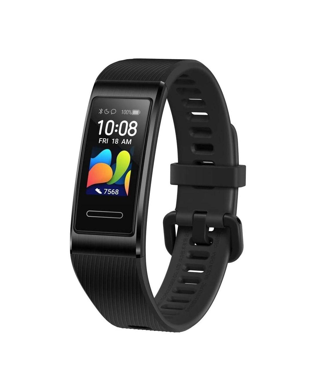 Bracelet connecté Huawei Band 4 Pro GPS - Noir