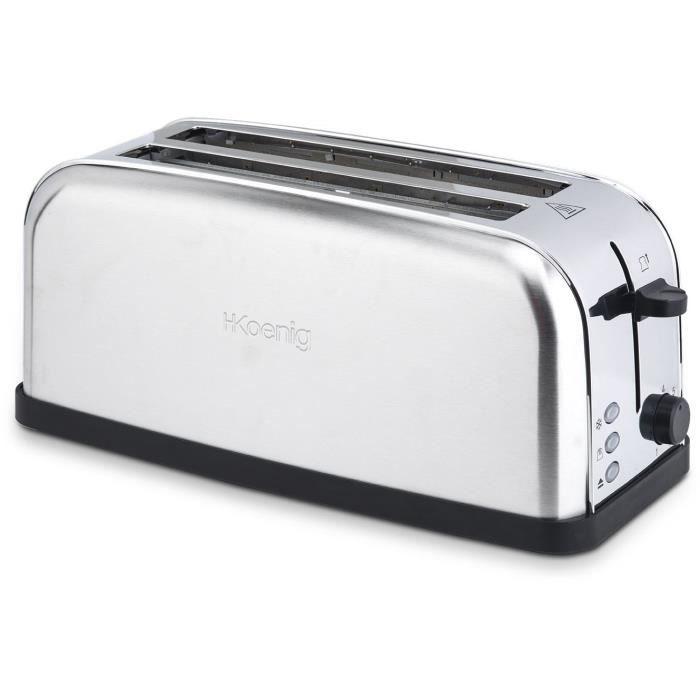 Grille-pain spécial baguette en inox H.Koenig TOS28