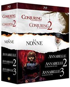 Coffret Blu-Ray Warren Collection de 6 films Conjuring 1 & 2 + La nonne + Annabelle 1, 2 & 3
