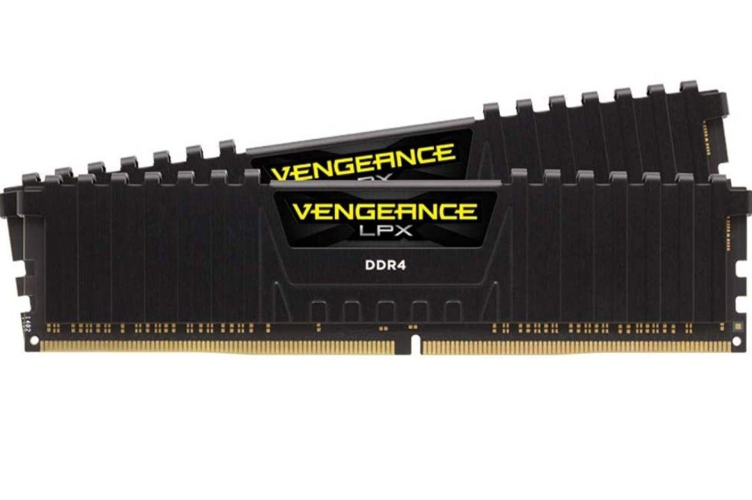 Kit mémoire RAM Corsair Vengeance LPX - 16 Go (2 x 8 Go) DDR4, 3200MHz, C16, XMP 2.0