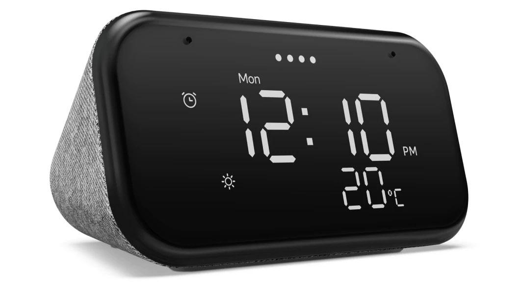 """Réveil avec écran 4"""" Lenovo Smart Clock Essential - Compatible Google Assistant"""