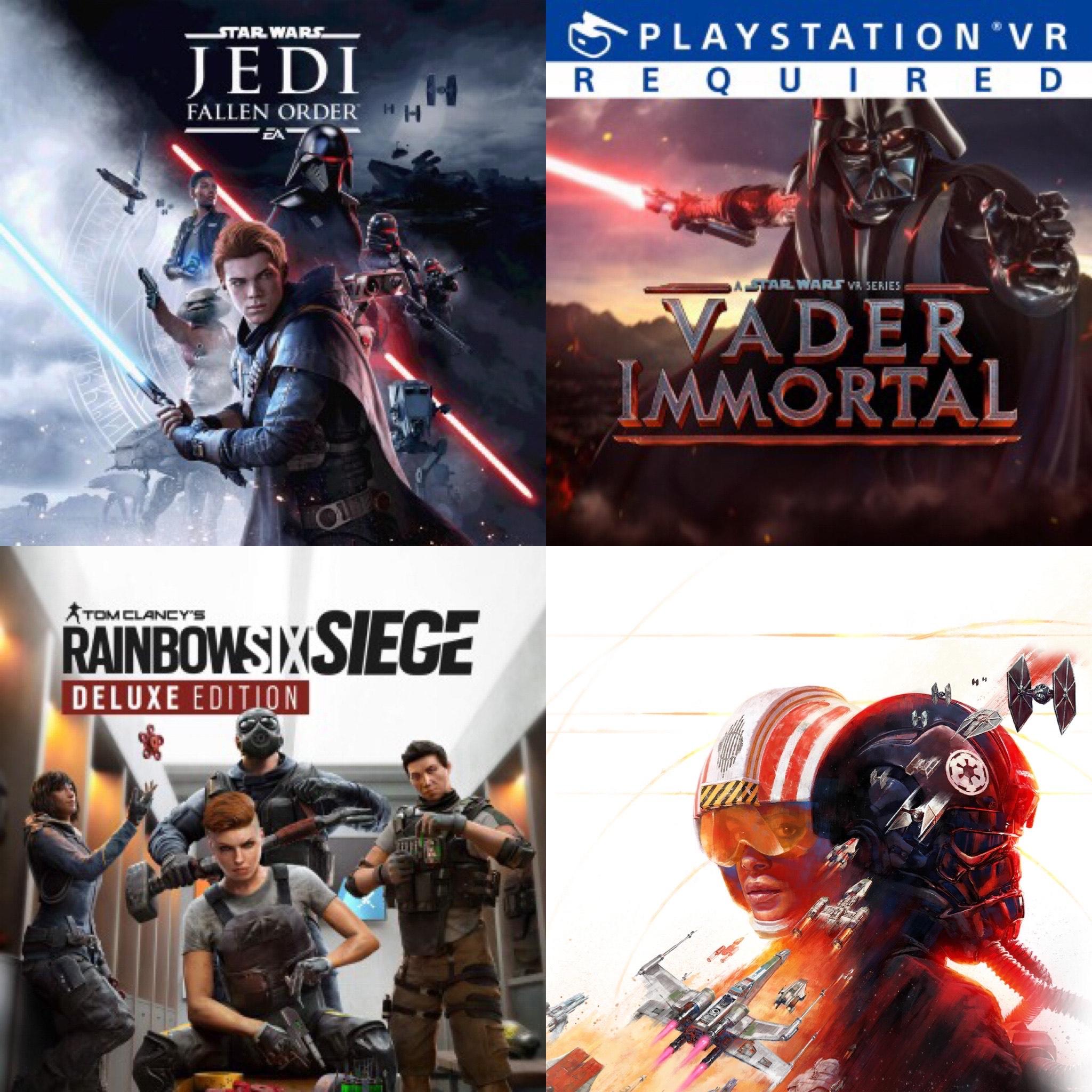 Sélection de Jeux en promotion - Ex : Star Wars Jedi: Fallen Order à 19.99€ sur PS4/PS5 (Dématérialisé)