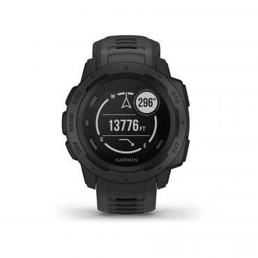 Montre connectée GPS Garmin Instinct - Noire