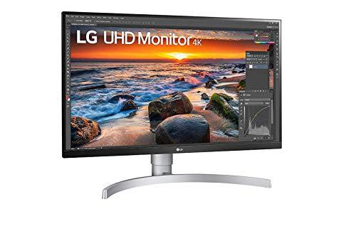 """Ecran 27"""" LG UltraFine 27UN83A-W, 4K, IPS, USB-C, Haut-parleurs, 60Hz"""