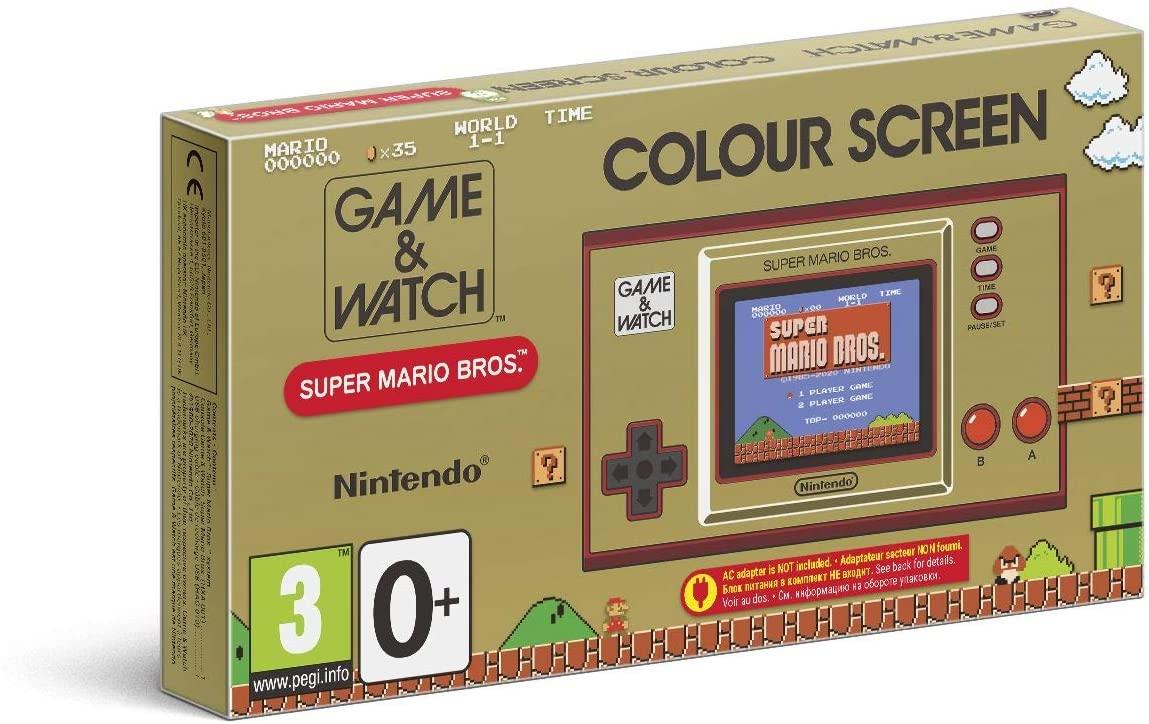 [Adhérents] Console portable Nintendo Game & Watch Super Mario Bros. (+ 10€ sur la cagnotte-fidélité)